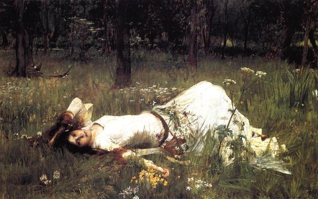 John William Waterhouse - Ophelia (1889)