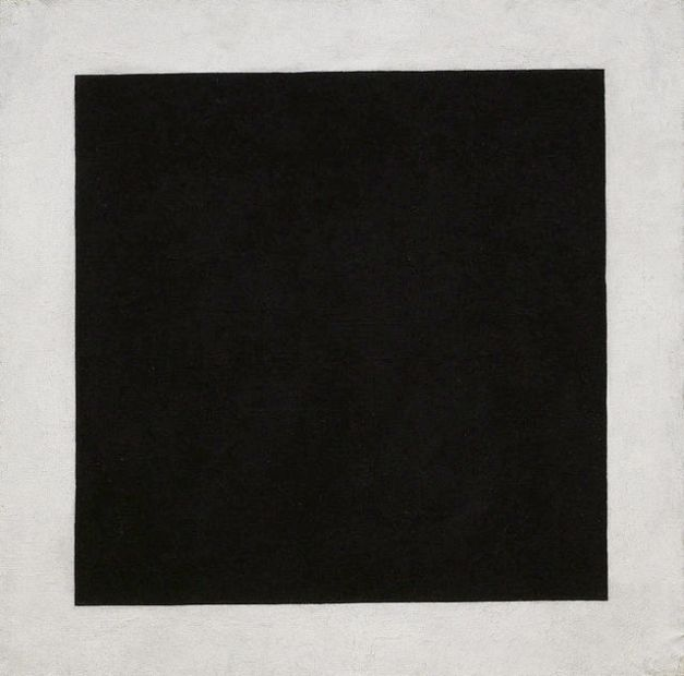 Black Square, around 1923. Oil on Canvas, 106 x 106 cm Sch-9484.