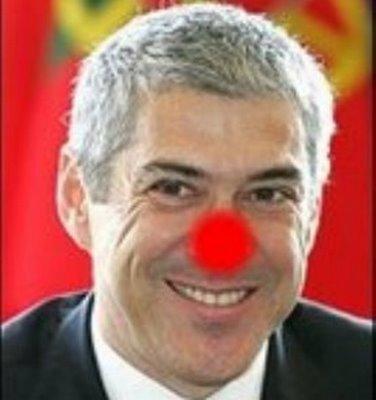 JoseSocrates+palhaço