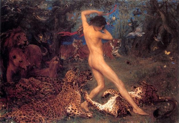 Swan, John Macallan1847-1910 Orpheus 1896