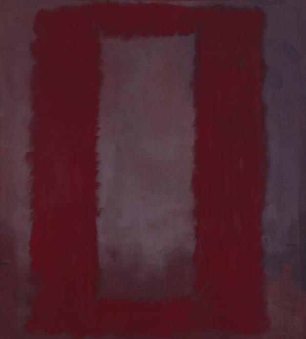 Mark Rothko. Red on Maroon, 1959