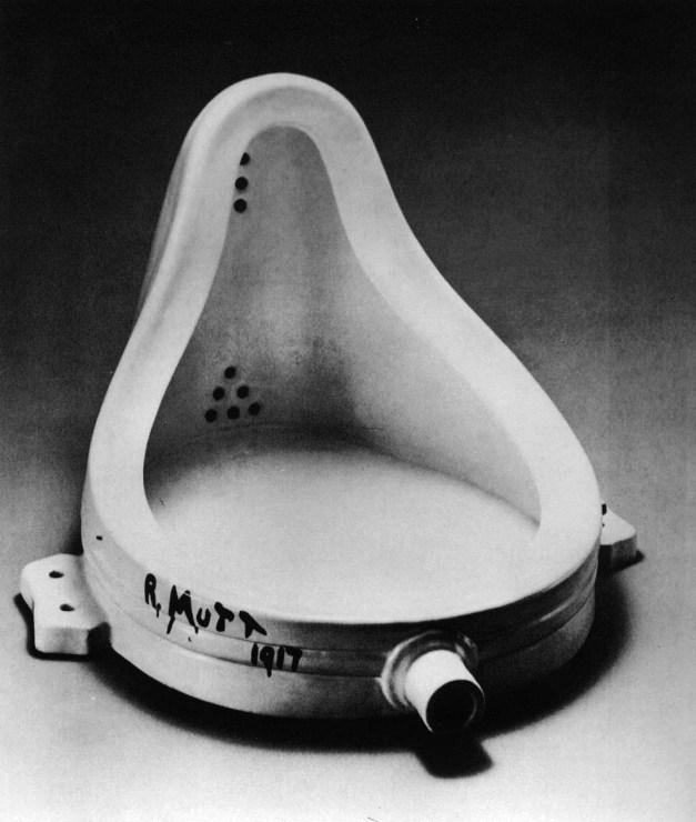 Marcel Duchamp Fountain 1917